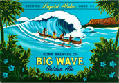 Kona Brewing Co. - Big Wave Golden Ale