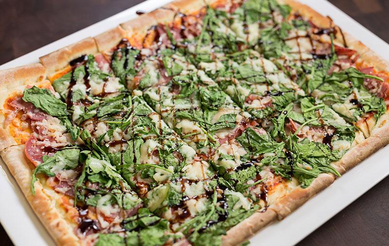 prosciutto margarita pizza