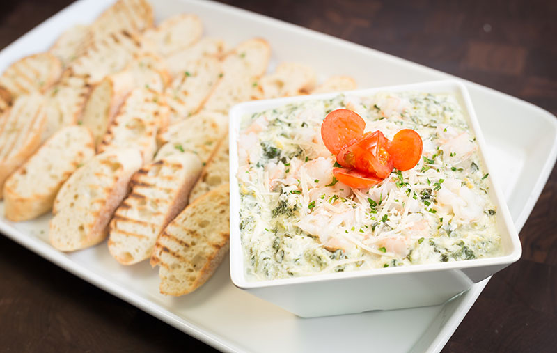 spinach & shrimp dip